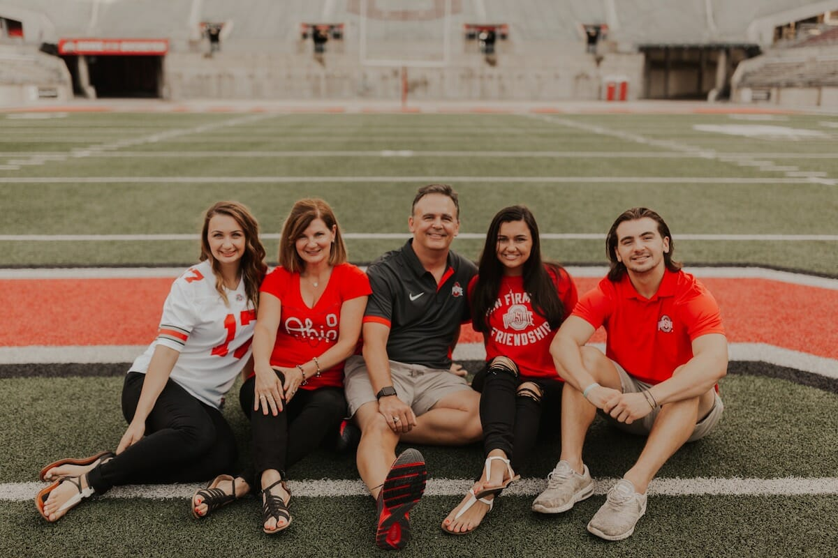 OSU family photo